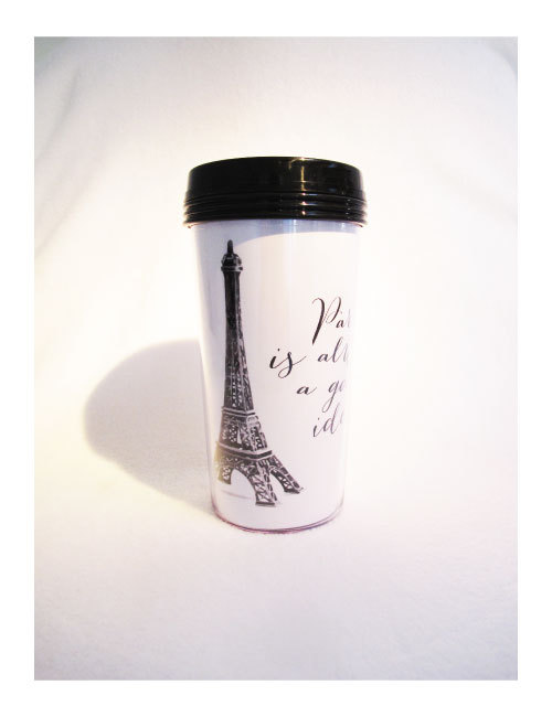 TAKE AWAY CUP - PARIS IS...