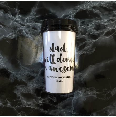 TAKE AWAY CUP - WELL DONE