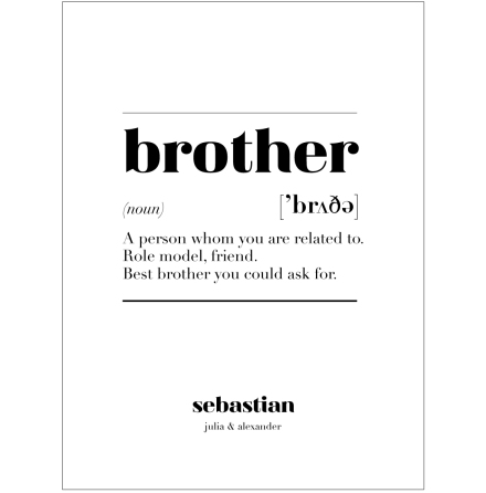 BROTHER IS