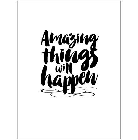 AMAZING THINGS