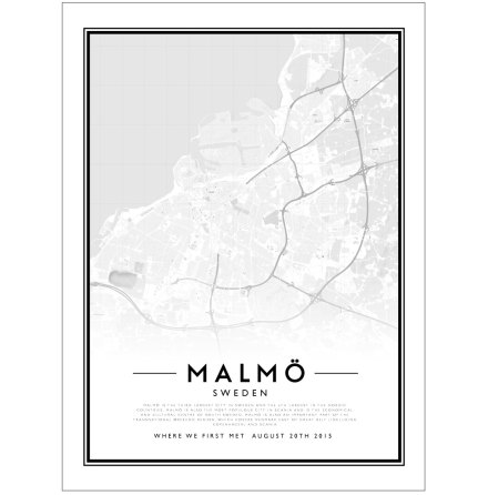 CITY MAP - MALMÖ