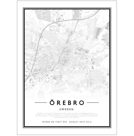 CITY MAP - ÖREBRO