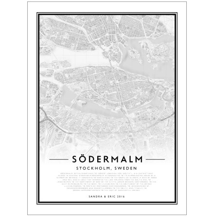 CITY MAP - SÖDERMALM