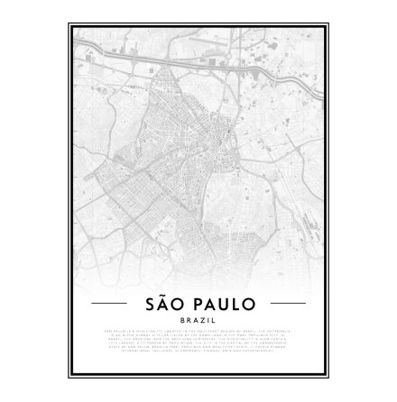 CITY MAP - SAO PAULO