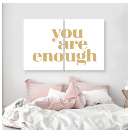 YOU ARE ENOUGH 2 st posters
