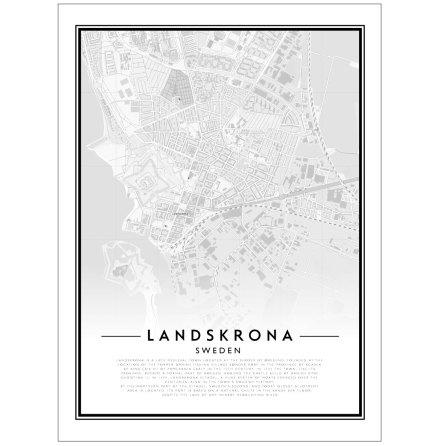 CITY MAP - LANDSKRONA