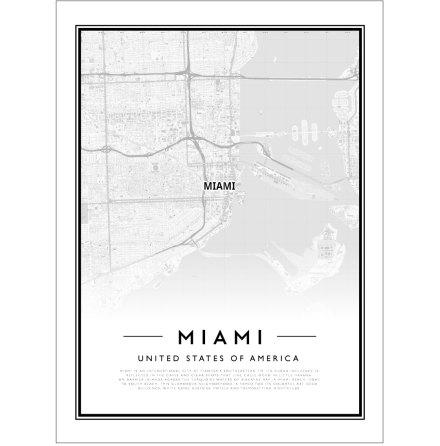 CITY MAP - MIAMI
