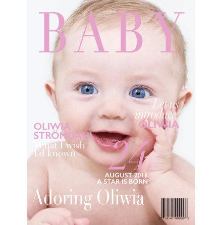GÖR DITT EGET TIDNINGSOMSLAG BABY