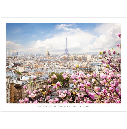 FOTOKONST VÅR I PARIS PETITE CHARLIE