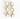 SWAROVSKI® ÖRHÄNGEN RHINESTONE THREE DROPS WHITE OPAL