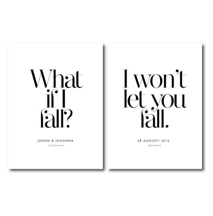 PARPOSTERS -WHAT IF I FALL 2 st posters