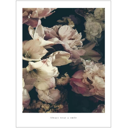 ARTPRINT DREAMY FLOWERS