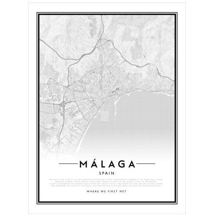 CITYMAP - MÁLAGA