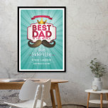 HAPPY FATHERS DAY POSTER TILL PAPPA PÅ FARS DAG