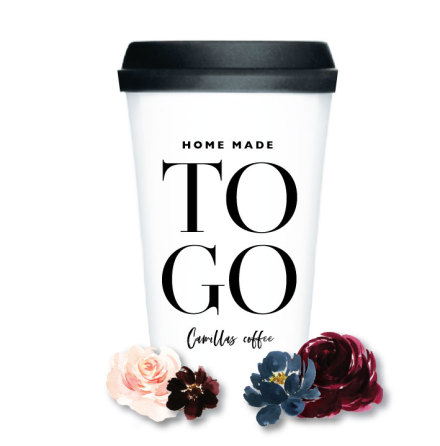 TAKE AWAY CUP - TO GO EGEN KAFFEMUGG