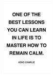 ONE OF THE BEST LESSONS - CITATPOSTER