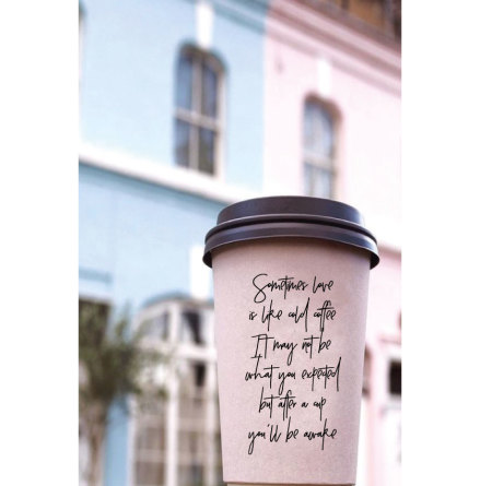 TAKE AWAY CUP - POEM