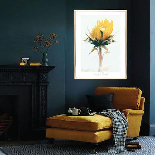 premium selection f1a9e 904be fotokonst artprints kartor solrostavla, solrosposter, solrosaffisch,  citatposter citattavla snygga posters personlig poster tavla